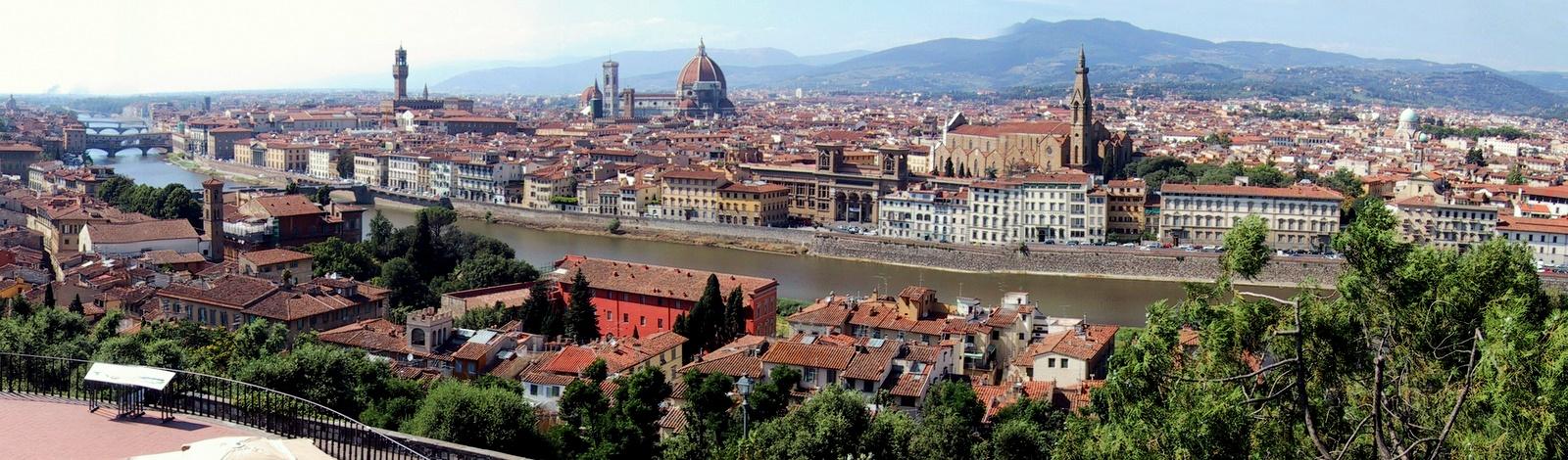 Florence Panorama Michaelangelo